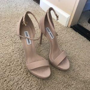 5d80ff65229 Steve Madden Shoes - Starlet Natural Nubuck - Steve Madden Heels 6.5